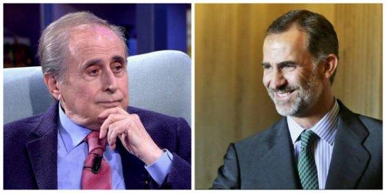 Jaime Peñafiel ataca con saña a Felipe VI y aprovecha para saldar deudas con un compañero de El Mundo