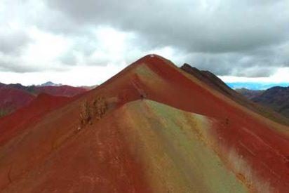 """Vinicunca: La increíble """"Montaña de Siete Colores"""""""