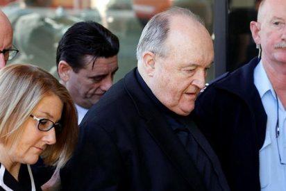 Absuelto el arzobispo emérito australiano condenado por encubrir un caso de pederastia