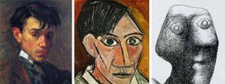 Así se fue autorretratando el gran Picasso desde los 15 a los 90 años