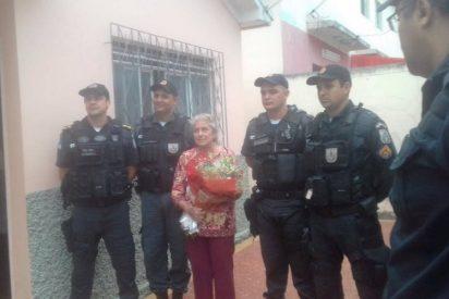 Brasil: La policía mata sin mediar a un delincuente con una anciana por rehén