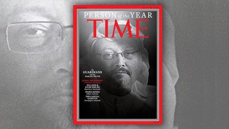 """Jamal Khashoggi, """"Persona del Año"""" para la revista Time"""