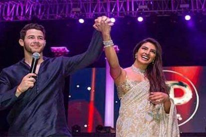 Las imágenes de la espectacular y opulenta boda de Priyanka Chopra y Nick Jonas