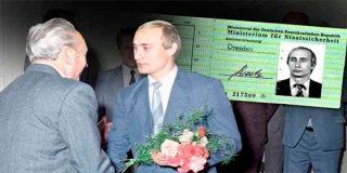 Apareció la identificación de Vladimir Putin expedida por la temible policía secreta de Alemania Oriental