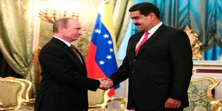 Con 6.000 millones de dólares Rusia financia una vez más la dictadura chavista de Nicolás Maduro