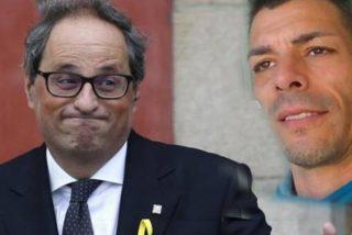 El xenófobo Torra ordena 'alejar' a un preso 'españolista' para que no coincida con Junqueras y sus compinches
