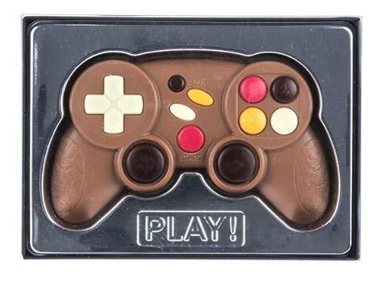 """""""Mando de videojuegos de chocolate"""