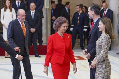 Un audio dinamita la Casa Real: Letizia humilla a Don Juan Carlos y a Doña Sofía
