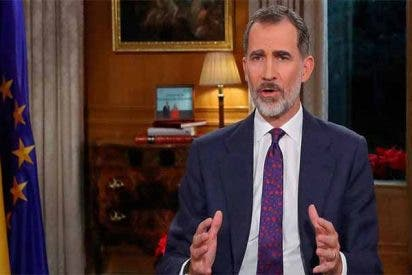 Un discurso decepcionante del Rey, donde no habla de Cataluña y del que se 'apropian' Sánchez e Iglesias