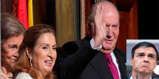 Las Cortes españolas acogen con una ovación al rey Juan Carlos y con abucheos al socialista Sánchez