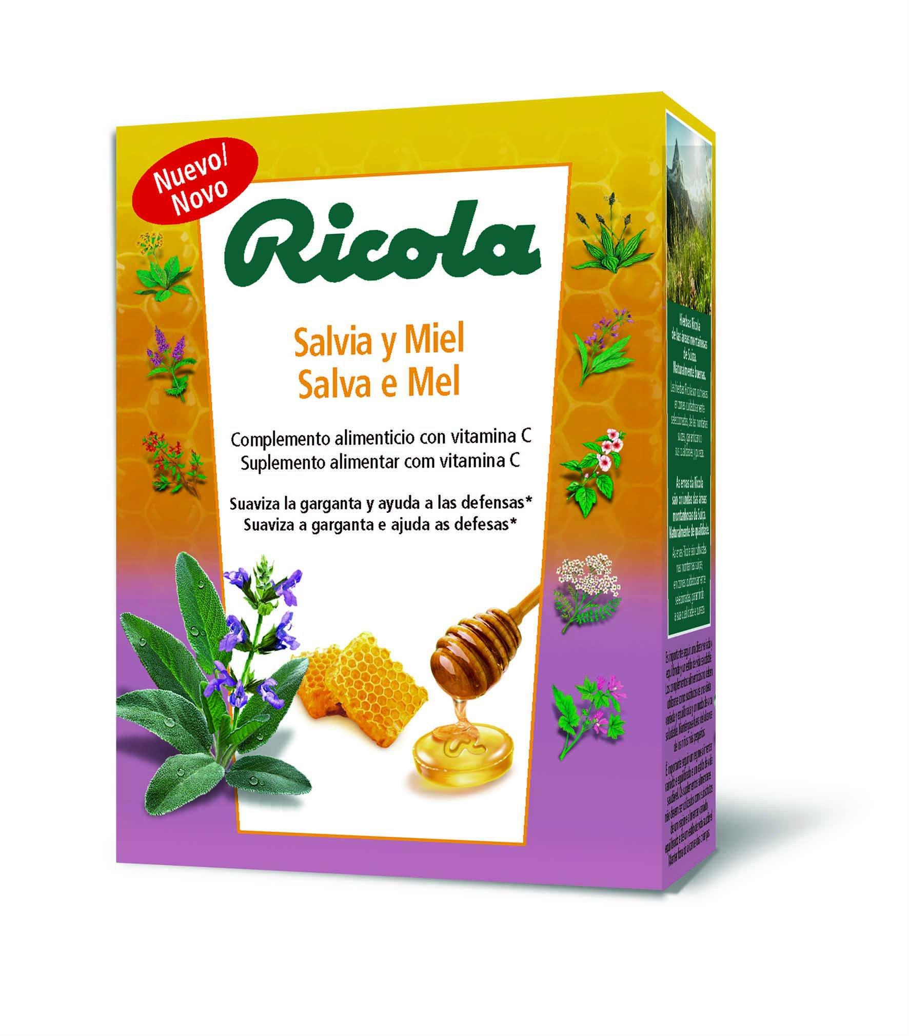Ricola añade vitamina C a su formulación de siempre para suavizar la garganta y ayudar a tus defensas