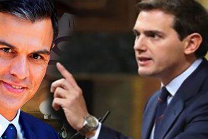 """Albert Rivera: """"Vaya con cuidado señor Sánchez que Pablo Iglesias le coge el helicóptero"""""""