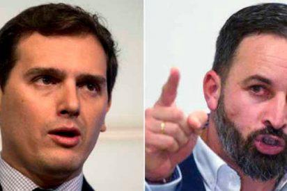 """Abascal sacude a Rivera: """"Te crees Bismarck pero eres un 'petit Macron' henchido de cosmopaletismo"""""""