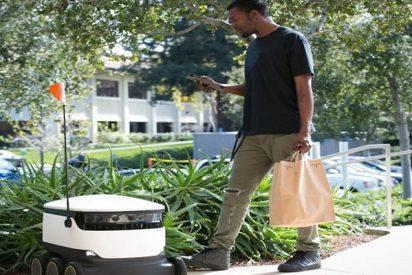 Así es el primer robot de entregas a domicilio que ya opera en Reino Unido
