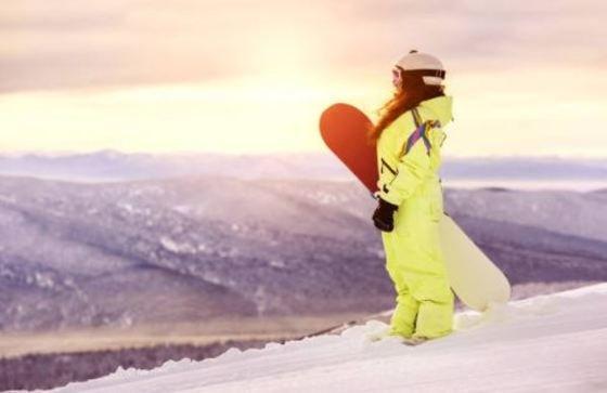 Ropa de esquí para niños - una pieza traje
