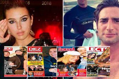 La 'robamaridos' Alba Díaz y su recién estrenado novio arrasan en la prensa rosa