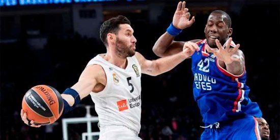 Euroliga: El Real Madrid firma una remontada épica ante los turcos del Efes y corta su mala racha