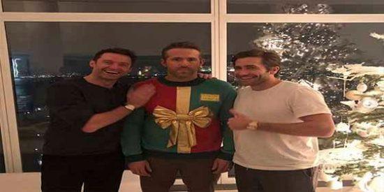 La cruel broma navideña que gastaron Hugh Jackman y Jake Gyllenhaal a Ryan Reynolds
