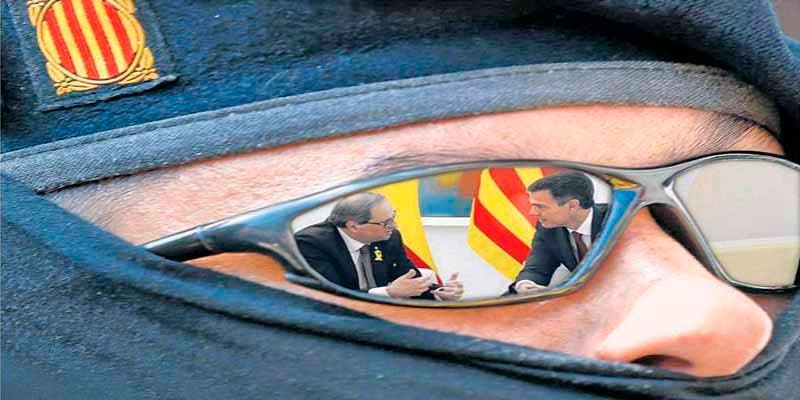 """José Luis Suárez: """"La 'vía Torra' pra la rebelión y la secesión"""""""