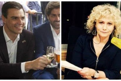 """Mónica Terribas enfurece con Pedro Sánchez por """"frivolizar sobre la huelga de hambre con una copa de cava en la mano"""""""