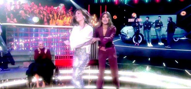 La fiebre de 'Grease' en 'GH VIP 6 ' atrapa a Sandra Barneda y Nagore Robles con doble beso final incluido