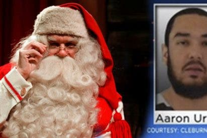 Detienen a este hombre por decirles a los niños que Papá Noel no existe