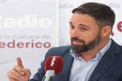 """Santiago Abascal: """"Con el PSOE que ha llevado a los golpistas catalanes a la Moncloa no hay nada que pactar"""""""