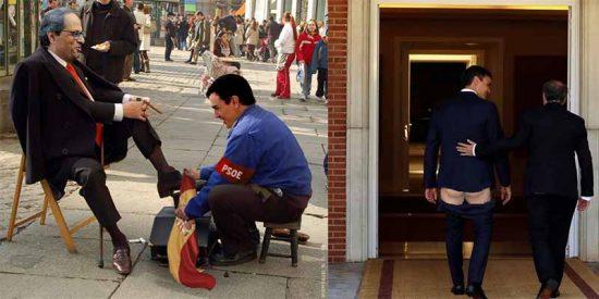 Los españoles no se merecen un presidente de mierda que permite humillar a España