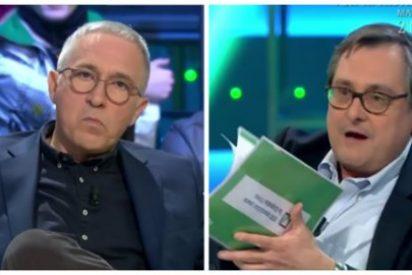 """Despelleje a grito pelado entre Marhuenda y Sardá a cuenta de los """"fachas"""" de Vox: """"¡Tú eres un ignorante!"""""""