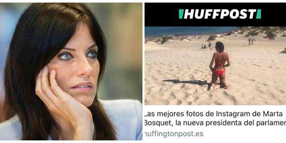 Cristina Seguí humilla al Huffington Post por su recalcitrante machismo mientras va por la red dando lecciones de todo