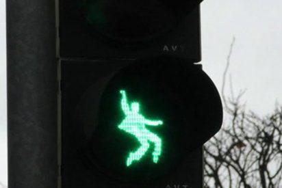 """Elvis Presley """"marca el paso"""" de cebra en Alemania"""