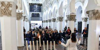 Tras 606 años, se volvió a rezar en hebreo en la que fuera la Sinagoga Mayor de Toledo