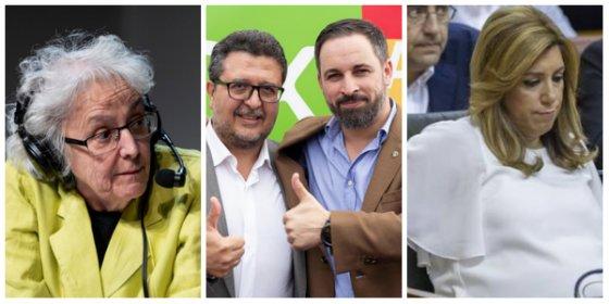 """Pataleta infantil de El País contra la """"ultraderecha"""" de Vox por ayudar a PP y C's a expulsar de Andalucía al PSOE"""