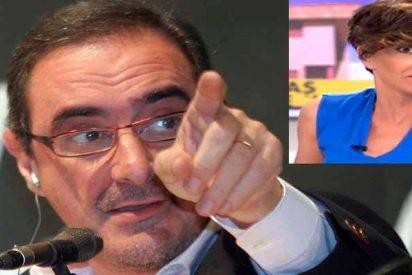 Sonsoles Ónega va de 'progre indepe' en la COPE y Carlos Herrera le da un palo brutal