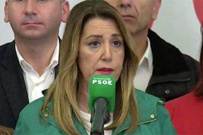 """Los cánticos en la fiesta de la derecha andaluza: """"¡Adiós, Susanita, adiós!"""""""