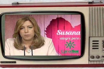 Intentando 'salvar el culo', Susana Díaz inyectó más de 25 millones a Canal Sur