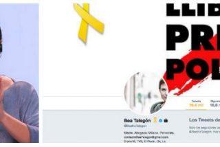 Beatriz Talegón se acojona con la demanda de Cake Minuesa y cierra al público su cuenta de Twitter