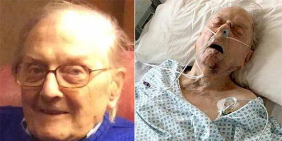 Peter Gouldstone, 98 años y héroe de la II GM: lo matarona golpes por una tele de 13 euros