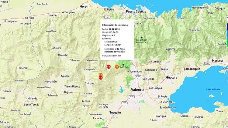 Un terrible sismo de 4.9 grados sacude a Venezuela