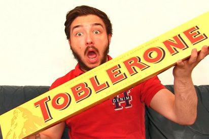 ¿Puedes ver la imagen oculta en el Toblerone? ¡Un niño de 9 años lo ha descubierto en 2 segundos!
