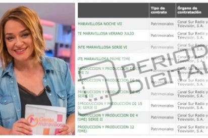Los gatillazos de audiencia con final feliz que hacen de oro a Toñi Moreno y a tres ex directivos de Canal SUR