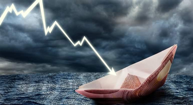 El Ibex 35 registra la mayor caída del año; cierra la jornada en 8.764 puntos
