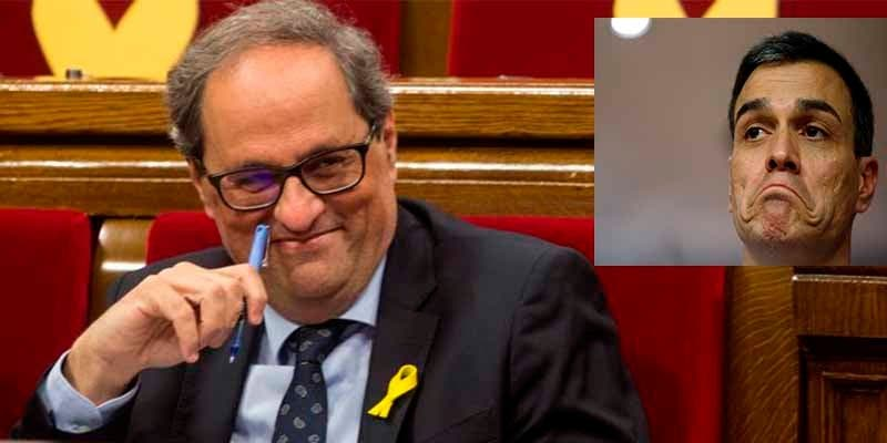 El 77% de los españoles desaprueba la claudicante política del socialista Sánchez con Cataluña