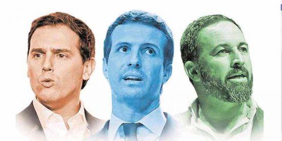 Elecciones Generales: PP, Cs y Vox tendrían hoy mayoría absoluta con 182 escaños