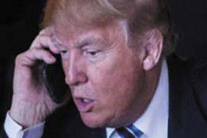 """Trump: """"¡México está pagando por el muro!"""""""