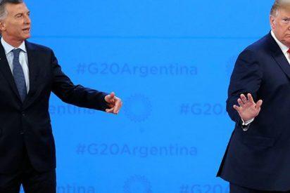 Trump le da plantón a Macri justo antes de la foto oficial en el G20