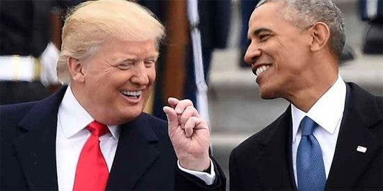 Obama sacude un duro golpe al ego del presidente Trump