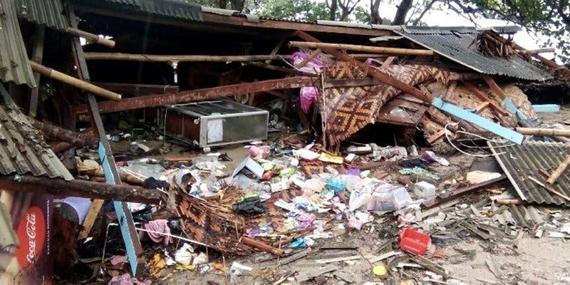 Solidaridad del Papa con los afectados por el tsunami en Indonesia