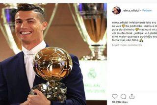 La hermana de Cristiano Ronaldo muy cabreada por el resultado de la elección del Balón de Oro