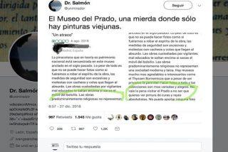 """Cosas de progres: """"Las obras del Museo del Prado no representan una sociedad moderna y laica"""""""